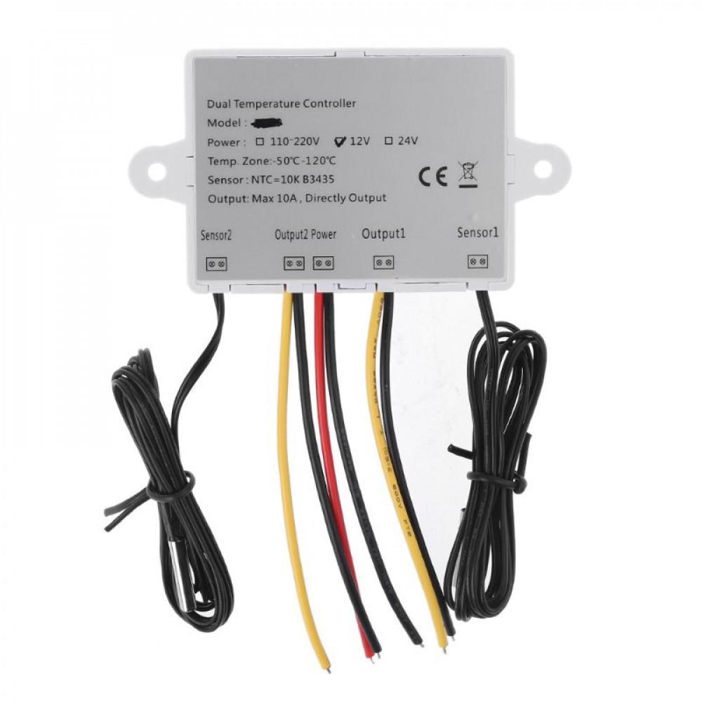 Купить Двойной термостат для инкубатора 10A