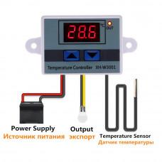 Контроллер температуры 10 А 12 В 24 В 220 XH W3001